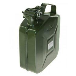 100079 - üzemanyag kanna 5L fém marmonkanna, zöld