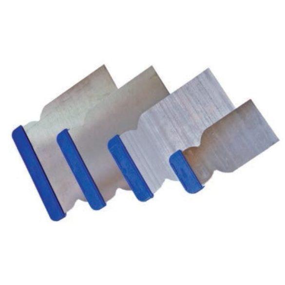 11071 - felület kaparó szett, 4db, kék műanyag markolat (BM)