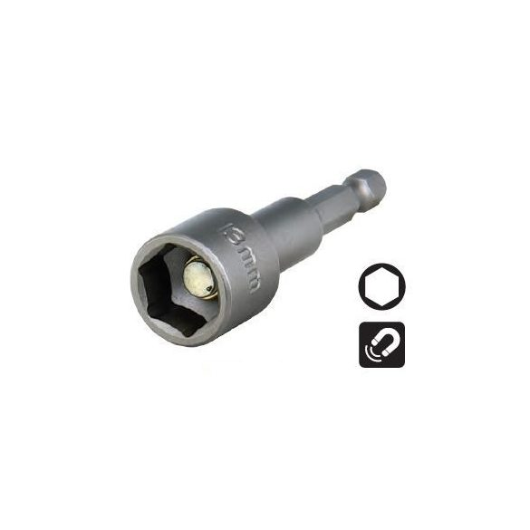 15456 -  belső mágneses anyakulcs méret 17x65mm,
