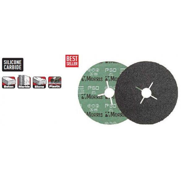 18765 -  csiszolópapír/nem szőtt, tárcsa, fekete,  115- 080k, SF08