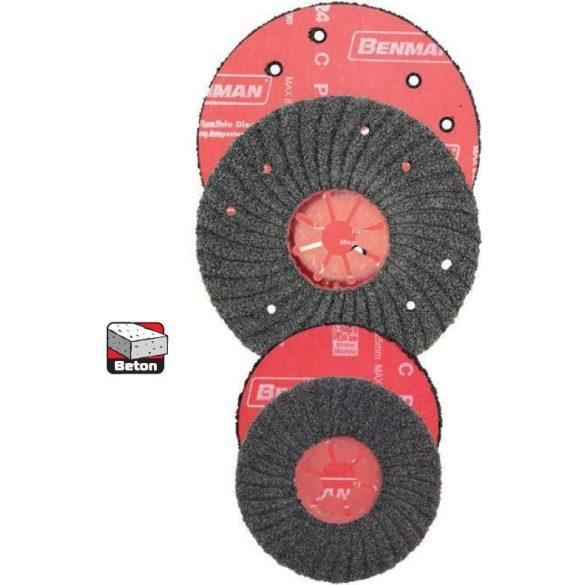 24449 -  hosszan-tartós, szárnyas csiszolólemez/tárcsa  115 X 150 (BETON)