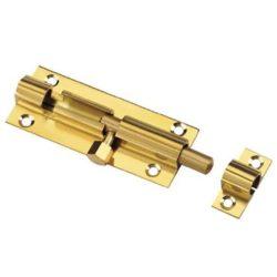 """25630- Tolózár (rigli) Alumínium Arany színű 3"""""""