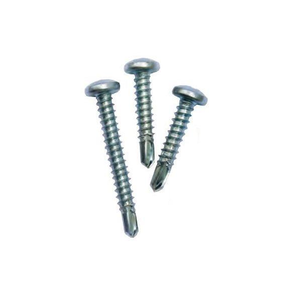 25954 -  PHILLIPS PAN fejű önmetsző csavar  horganyzott CR3+  DIN 7504N,  M4.8x25 1000db