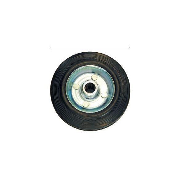 27525 -  gumi fekete kerék, csak, 200mm,