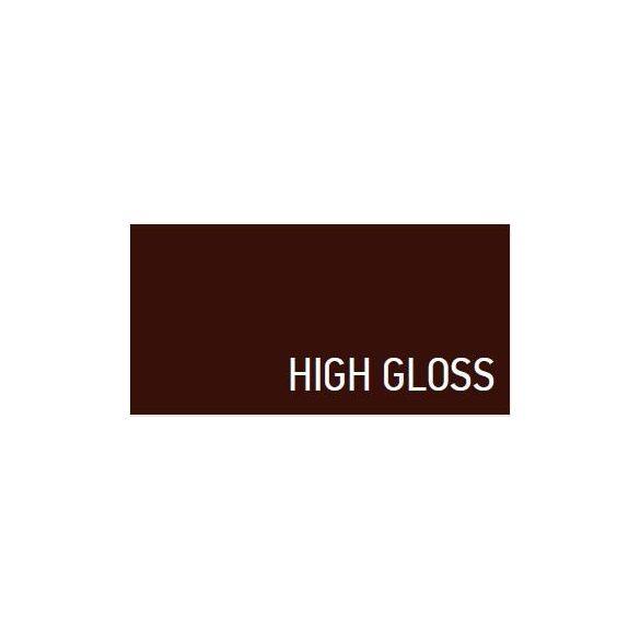 28525 -  színspray, magasfényű MAHOGANY barna,  400ml - RAL 8016
