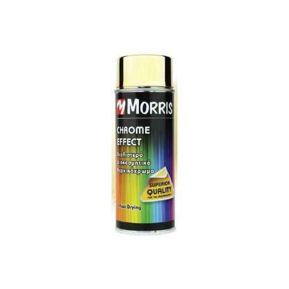 28536 -  színspray, króm effekt arany,  400 ml
