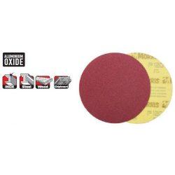 33529 -  tépőzáras lemez/tárcsa,  piros, 125 - lyuk nélkül - 100K