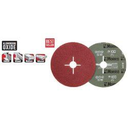 33591 -  csiszolópapír/tárcsa,  piros, 125 - 080K