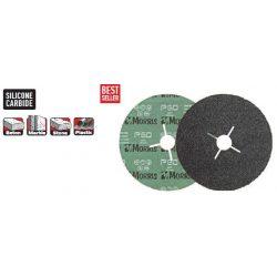 33618 -  csiszolópapír/tárcsa,  fekete, 115 - 40K