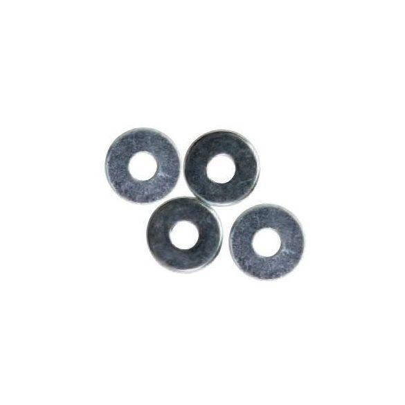 34105 - alátét - galvanizált, horganyzott, CR 3+ (THIN), DIN 125A, M4 (1500 db)
