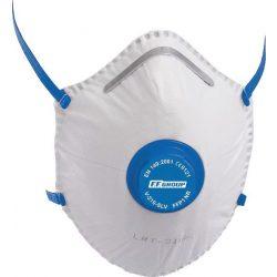 36456 -  maszk kupola formájú részecskeszűrős, V-210 SLV FFP1, szeleppel,