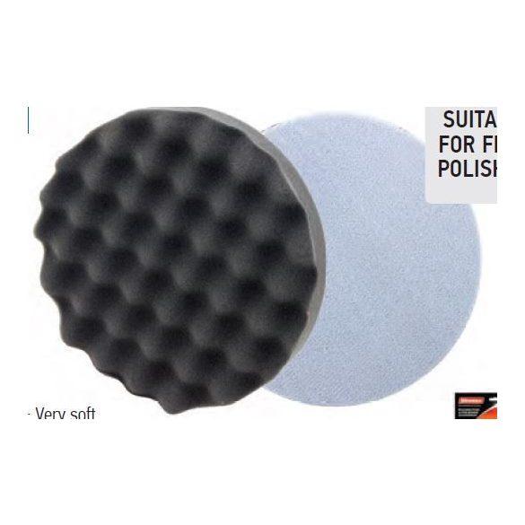 37709 - végpolírozó szivacs tépőzáras, antracit,150x25mm,