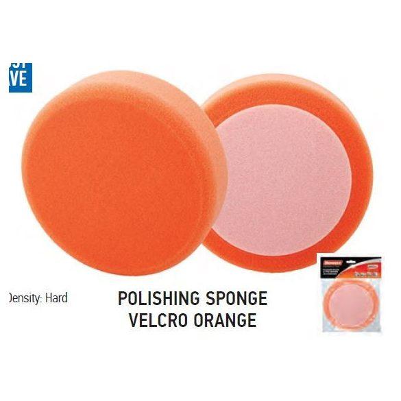 37710 - polírozó szivacs tépőzáras narancs 150x25mm