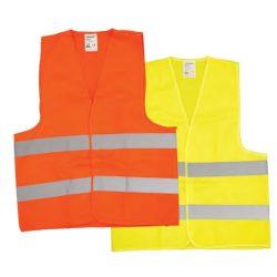 38183 -  fényvisszaverő mellény, sárga, L,