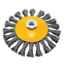 38691 - csavart kúpos drót kefekerék menettel S0.50mm, ?100mmXM14