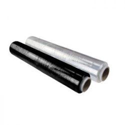 39703 -  stretch fólia, fekete 500mmX23mixX140m