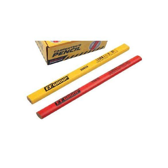 39852 - ácsceruza (sárga) 176x13x7mm,