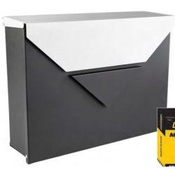 41601 -  postaláda fekete-ezüst, 370x270x100x0,6mm,