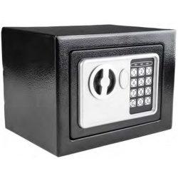 41604 -  széf mini fekete, 170x230x170mm,