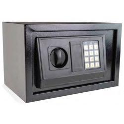 41606 -  széf fekete, 200x310x200mm,