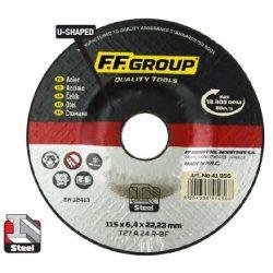 41956 -  csiszolólemez/tárcsa acélhoz,  115x6.4,