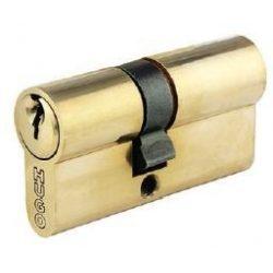 60010 -  cilinder , GR2S, 3 kulcs, 90mm(40-50), csiszolt sárgaréz