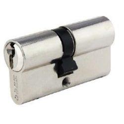 60017 -  cilinder , GR2S, 3 kulcs, 75mm(30-45), nikkelezett