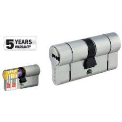 60033 -  cilinder biztonsági záras,  GR3.5S, 60mm (30-30), 5 kulcs, nikkelezett