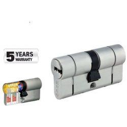 60039 -  cilinder biztonsági záras,  GR3.5S, 80mm (35-45), 5 kulcs, nikkelezett