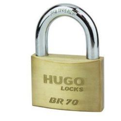 60136 -  lakat,  sárgaréz, BR 50 , 3 kulcs