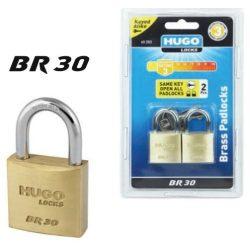 60204 -   lakat, réz, azonos kulccsal, 3 db, 4 kulcs, BR 30