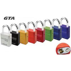60224 -  lakat  GTA 38 alumínium ezüst, 2 kulcs