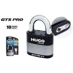 60241 -  lakat  GTS-PRO 63 edzett acél, 3 kulccsal