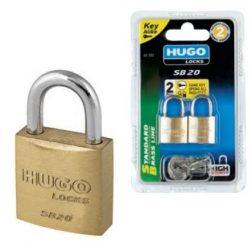 60284 -   lakat, azonos kulccsal, 4 db, 5 kulcs, SB 20
