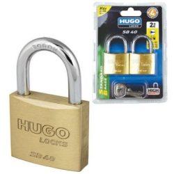 60288 -   lakat, azonos kulccsal, 2 db, 3 kulcs, SB 40