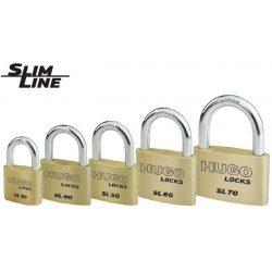 60293 -  sárgaréz lakat,  SL 50, 3 kulcs