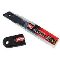 71079 -  tartalék penge fekete általános késekhez 18x0,6mm,  (10db)