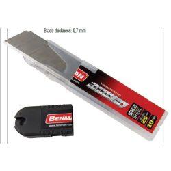 71080 -  tartalék penge általános késekhez 25x0,7mm,  (10db)