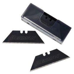 71081 -  tartalék penge fekete általános késekhez 60x19x0,6mm,  (10db)