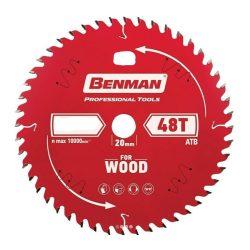71901 - körfűrész tárcsa fára 165mm / 20mm / 2,6mm