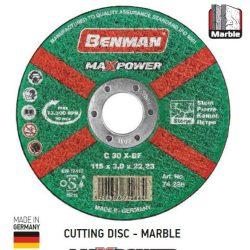 74287 -  vágókorong, márványhoz, MAXPOWER , 125x3.0mm