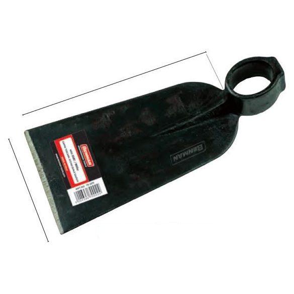 75224 - kapa szögletes , keskeny, ovális nyélhez, TOSkannaE stílusú, 9x21cm,