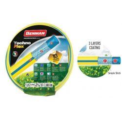 """77151 - kerti tömlő TECHNOFLEX 1/2""""X 25 m (sárga),"""