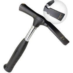 77450 -  kőműves kalapács, gumi markolat, 600gr
