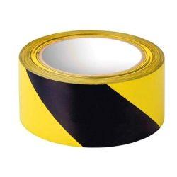 96543310 - Jelzőszalag sárga-fekete 60mmx30m